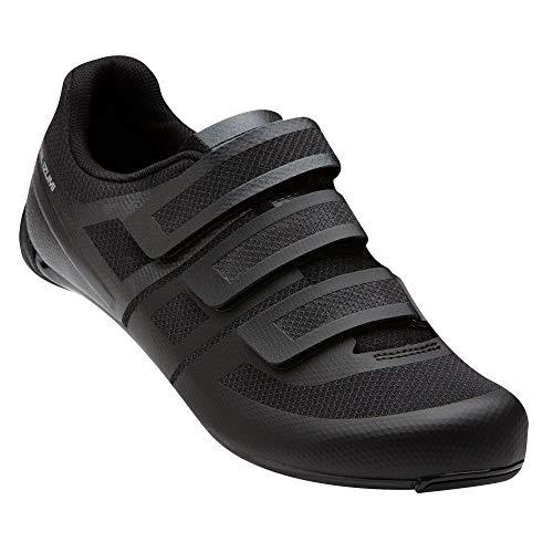 PEARL IZUMI Men's Quest Road Cycling Shoe, Black/Black, 49
