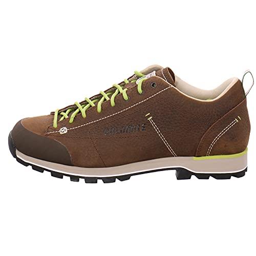 Dolomite Zapato Cinquantaquattro Low Lt, Scarpe Unisex-Adulto, Mud/Green, 42 EU