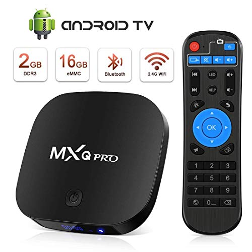 TV Box Android 4K Boîtier TV [2GB RAM+16GB ROM] [2019 Dernière Version] SUPERPOW Android Smart TV, Android Box avec HD/H.265 / 4K /...