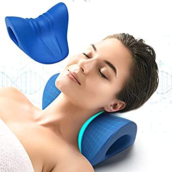 Amazon Com Neck And Shoulder Relaxer Cervical Traction Device