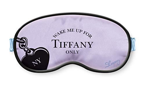 Sleepery Schlafmaske aus 100{6c28478c7af821efdd56606ff652065c8b48a8e99295c8d0ec36aed65ff01164} hochwertiger natürlicher Seide | Statement Schlafbrille für perfekten Schlaf überall | Augenbinde produziert in Europa (Tiffany Violett)