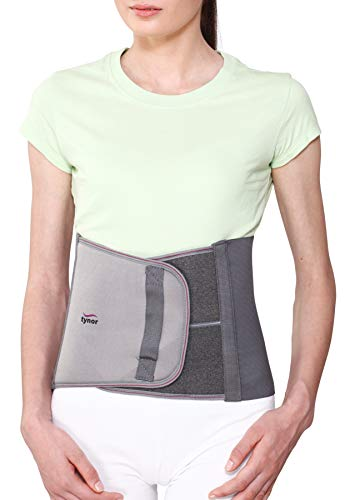 Tynor Tummy Trimmer/Abdominal Belt(9inch/23cm, compression & support to abdominal, Slimming-Men & Women)-Medium