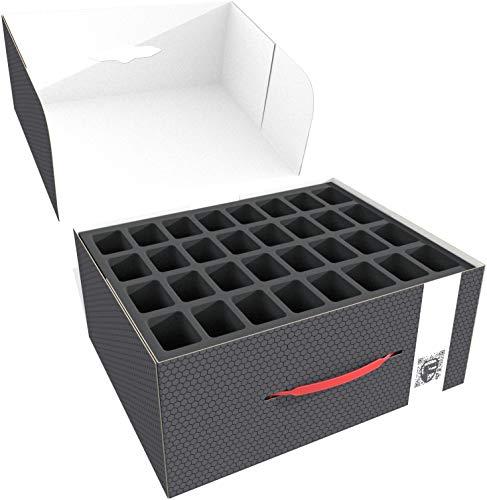 Feldherr Storage Box M es Compatible con 89 miniaturas sobre Base Grande