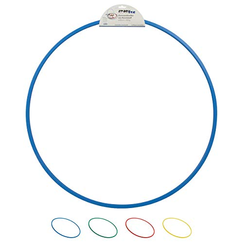 Sport-Tec Gymnastikreifen aus Kunststoff, Hula Hoop, Trainingsreifen, Turnreifen, Fitnessreifen, 80 cm, 400g