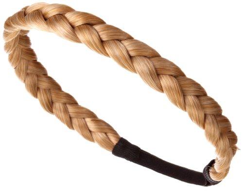 Love Hair Extensions Langes Braid Band (Flecht-Haarband) Farbe M2427 - Sonnenblond/Goldblond, 1er Pack (1 x 1 Stück)
