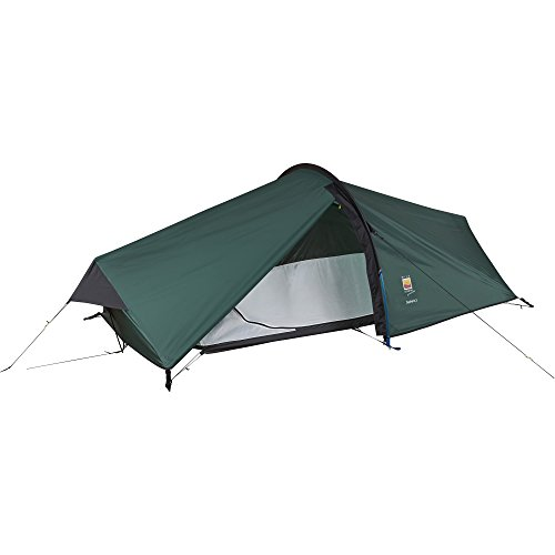 Wild Country Unisex's Zephyros Compact 2 Tent, Green, 2 Person