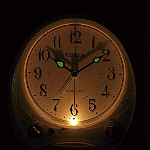 Rhythm(リズム時計工業)『アリアカンタービレN(8RM400SR05)』