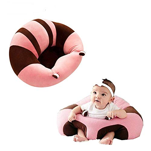 Cheapest Prices! SealSee Baby Support Seat Sofa Plush Soft Animal Shaped Baby Learning to Sit Chair ...