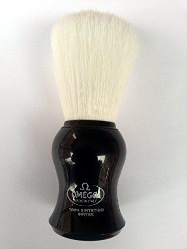 Omega Shaving Brush # 90065 shipfree Synthetic Syntex Oakland Mall 100% Green