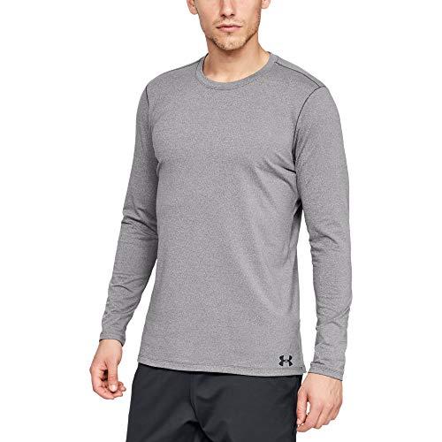 Under Armour Fitted CG T-Shirt à Manches Longues Homme - Gris - L