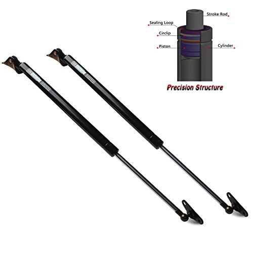 Beneges 2PCs Liftgate Lift Supports Compatible with 1999-2003 Lexus RX300 Rear Hatch Tailgate Hatchback Gas Spring Charged Struts Shocks Dampers PM3044, 6102, 6895049016