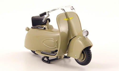 Vespa MPS Paperino, beige, 1945, modello di automobile, modello prefabbricato, Maisto 1:18 Modello esclusivamente Da Collezione