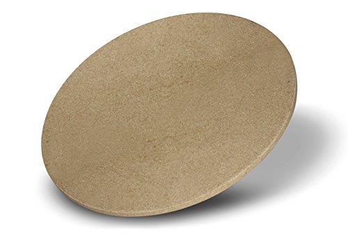 Enders® Pizzastein 8791, für Gasgrill, Backofen, Flammkuchen, Grill-Zubehör, aus Keramik, Ø 31,5 cm