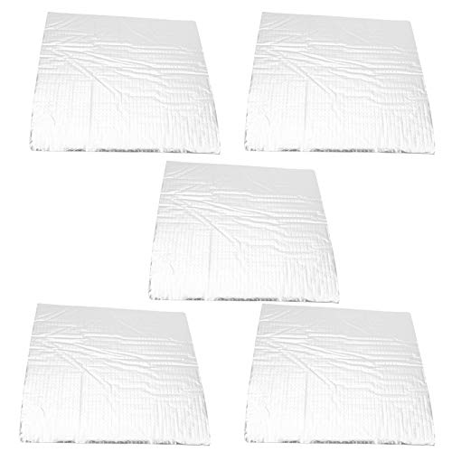 Tear Resistance Foil Thermal Insulation Mat Insulation Cotton Mat, Thermal Insulation Mat, Cold‑Resistant Non‑Toxic and Tasteless for Home(235 * 235mm)