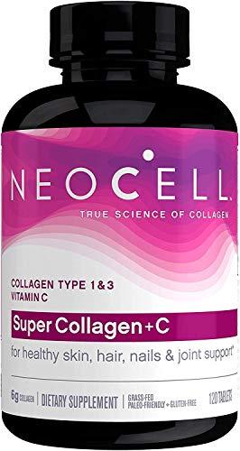 Neocell Súper Colágeno + C - 120 tabs 120 Unidades 160 g