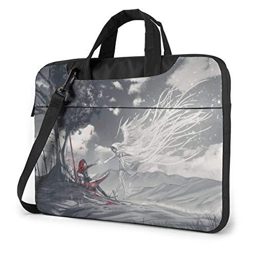 Hdadwy RWBY Laptop Shoulder Messenger Bag Case Sleeve for 14 Inch 15 Inch Laptop Case Laptop Briefcase 13inch