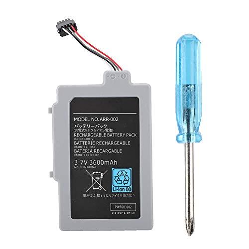 Denash Batería Gamepad para WIIU, Batería Compacta de Repuesto 3.7V 3600mAh Incorporada para el Controlador WIIU