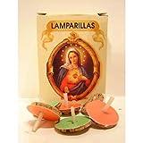 42 Lamparillas Mariposas Velas de Aceite 3 Cajas Colores Surtidos Vela Lámpara