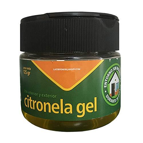 Suinga CITRONELA EN GEL de 125 gr. Producto eficaz contra los mosquitos, incluido el mosquito tigre