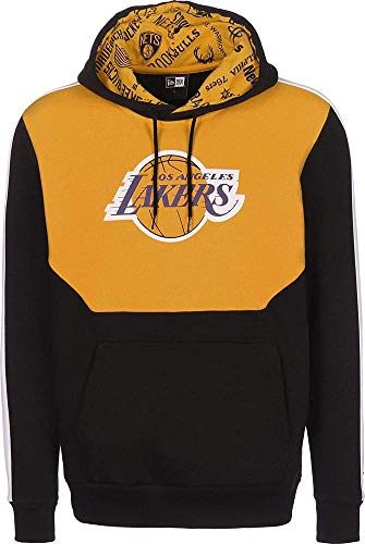 New Era Hoodie Colour Block Los Angeles Größe: L Farbe: Black/Yellow