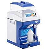 VEVOR Trituradora Hielo Eléctrica Automática 300 W Picadora de Hielo 200 kg/h Máquina de Cono de Nieve de Acero Inoxidable Máquinas de Granizados con Tolva de Capacidad de 5 kg con Tapa 320 RPM