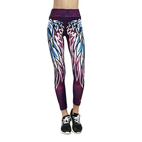 5043 yoga prachtige stof melk zijde ademend slim zweet slim fit heupen anti-stripping sport leggings (l paars blauw)