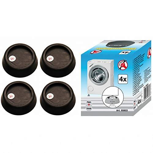 BGS 85803 Vibrationsdämpfer-Set, 4 teilig für Waschmaschinen & Trockner