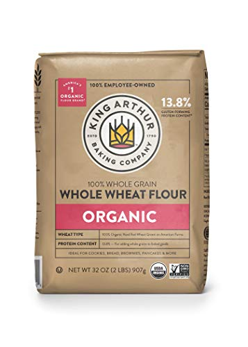 King Arthur Flour, 100% Organic Whole Wheat Flour