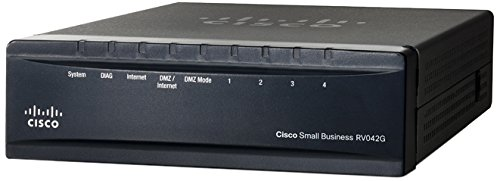 Cisco Dual Gigabit WAN VPN Router (RV042G-NA)