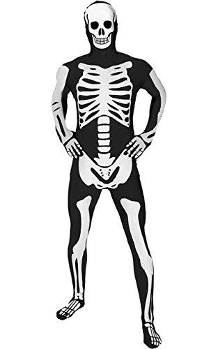 MORPHSUITS PREMIUM SCHELETRO GLOW Skeleton XL