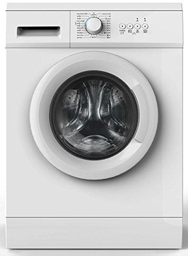 Amica WA 14681 W Waschmaschine Freistehend Frontlader Weiß 6 kg 1000 RPM A++ - Waschmaschinen (Freistehend, Frontlader, Weiß, Drehregler, Links, LED)