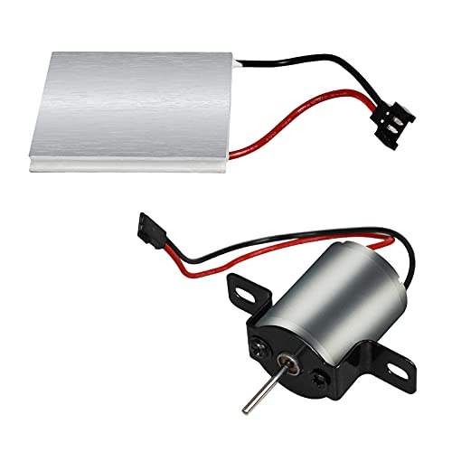B Blesiya Ventilador de Chimenea Motor de Metal para soplador, Ventilador, sopladores,...