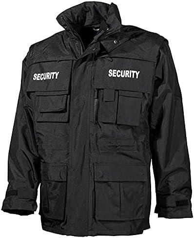MFH Men's Security Black San Antonio Mall Jacket Omaha Mall