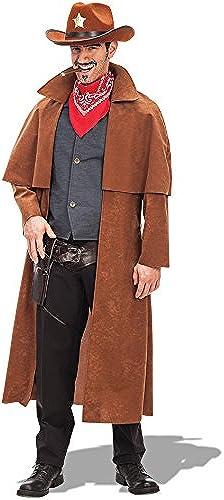 Seleccione de las marcas más nuevas como Carnival Toys - Disfraz sobretodo cowboy en en en bolsa, Talla única, Color marrón (80333)  compra en línea hoy