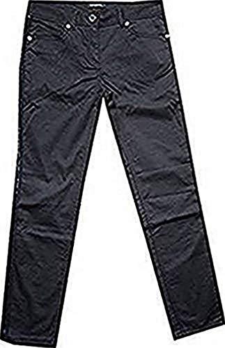 Hose Röhrenhose Damen Kurzgröße von Vivance Collection - Schwarz Gr. 19