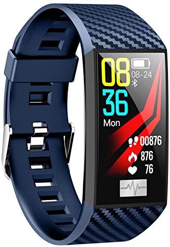 JSL Bluetooth relojes inteligentes para iPhone deportes ECG presión arterial monitoreo de oxígeno en sangre impermeable para la vida diaria-B