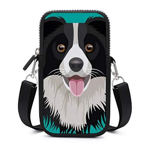 Bolso bandolera para teléfono celular con correa extraíble para el hombro, resistente al desgaste, bolsa para dinero, muñeca, bolso para niños