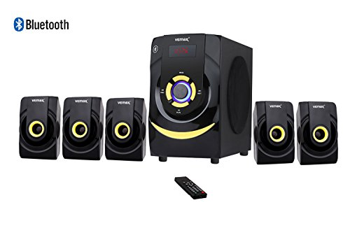 Vemax Beat 5.1 Bluetooth Multimedia Home Theater System 5.25 inch Woofer with...