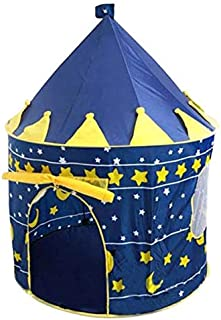 Play Tent Baby Ball Pool Tipi Tent for Kid Pink Blue Children Tent Play House Toy Tents Easy Babysitter -Blue