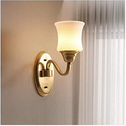 Meixian Wandlamp, spotlight, Europese koper, sfeer, slaapkamer, bedlampje, eenvoudige woonkamer, eenvoudig retro