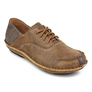 Tamarindo Stargazer Women's Leather Shoes Casual Lightweight Oxford