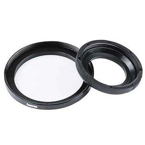 Hama Filter-Adapterring, Von 46,0 mm Objektiv auf 52 mm Filter, Metall, Schwarz