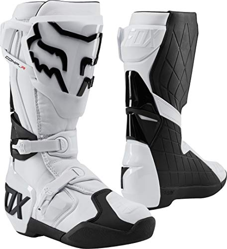 Fox Racing Men Adults Comp R Boots, White, 7