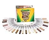 CRAYOLA Colours of The World - Rotuladores en 24 Colores Especialmente diseñados para representar a Personas de Todo el Mundo 58-7804