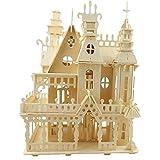 Modèle Kits de Construction 3D En Bois Adulte Victorienne Assemblée Jouet Enfants Construction Éducative Maison De Poupée Cadeau Enfants DIY Miniature Château Artisanat