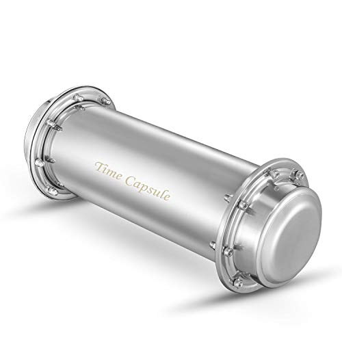 Jasni Time Capsule Stainless Steel Waterproof Container£¨13.4 Inch£