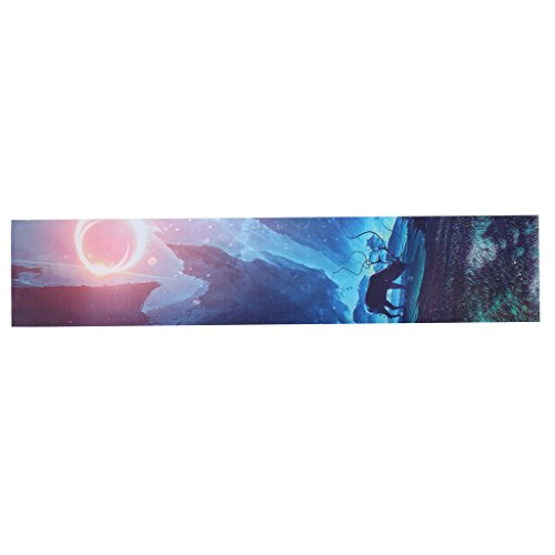MagiDeal Rutschfest Skateboard Aufkleber Selbstklebend Griptape Sandpaper für Longboard, Skateboard, Mini Cruiser - E