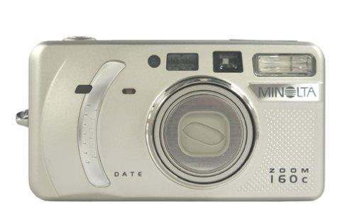 Konica Minolta Zoom 160c Date 35mm Film Camera