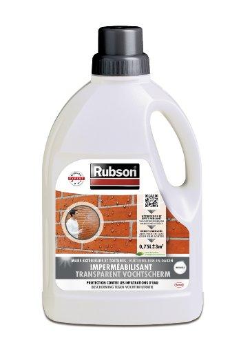 Rubson 1801757 - Flacone di liquido impermeabilizzante per muri esterni, 0,75 L