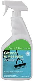 Custom Building Products TileLab Grout & Tile Cleaner and Resealer, 32 fl. oz.(946 ml)
